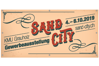 Sand City - Gewerbeausstellung am Grauholz